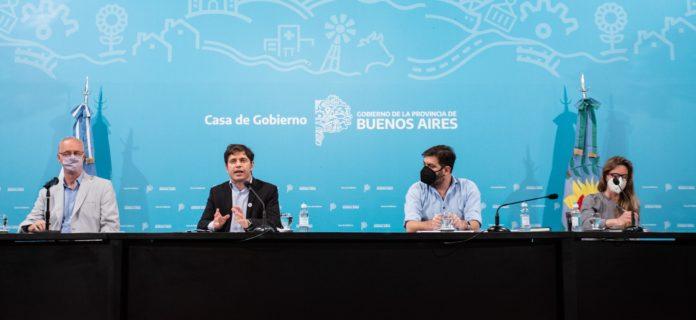 """DISPO: Kicillof anunció nuevas aperturas en el AMBA y promoverán """"burbujas sociales"""""""