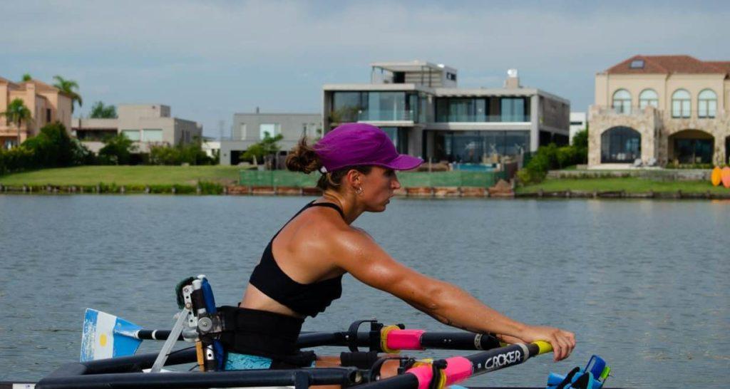 Remo adaptado: Brenda Sardónle apunta a Río para llegar a los Juegos de Tokio