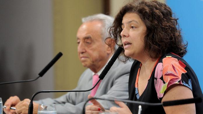 La secretaria de Acceso a la Salud, Carla Vizzotti, habló sobre su viaje a Moscú