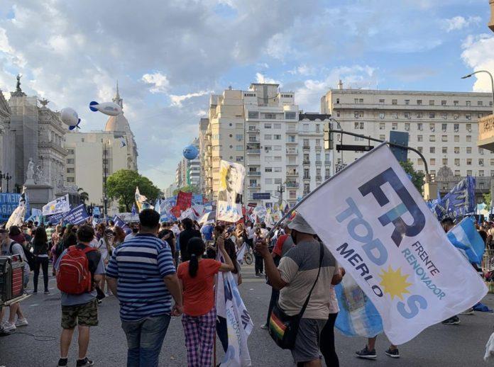 """En el Día de la militancia, el peronismo volvió a movilizarse y Fernández pidió """"unidad"""""""