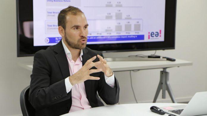 Guzman envió el proyecto de sostenibilidad de la deuda al congreso
