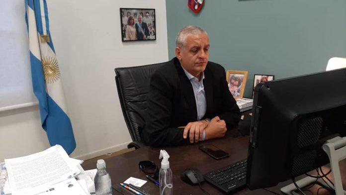 El secretario de Derechos Humanos, Horacio Pietragalla Corti