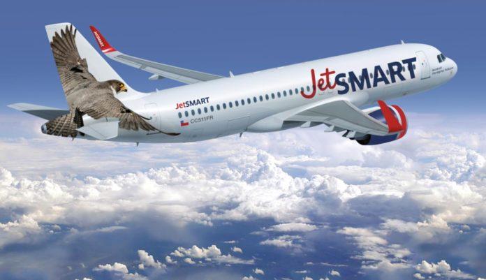 La low cost Jetsmart reinició sus vuelos de cabotaje desde Ezeiza