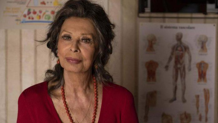 Sophia Loren muestra su esplendor en