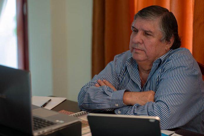 El jefe del bloque de Senadores del Frente de Todos, José Mayans, reafirmó este miércoles su postura en contra del proyecto