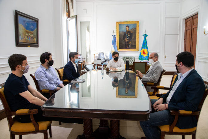 Kicillof puso en funciones al nuevo titular del Consorcio del Puerto de Quequén