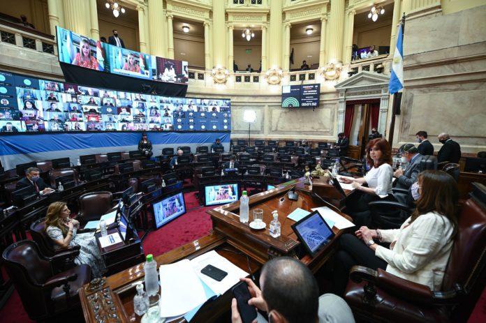 Por un error administrativo el Senado no pudo aprobar el Presupuesto y Fernández deberá esperar