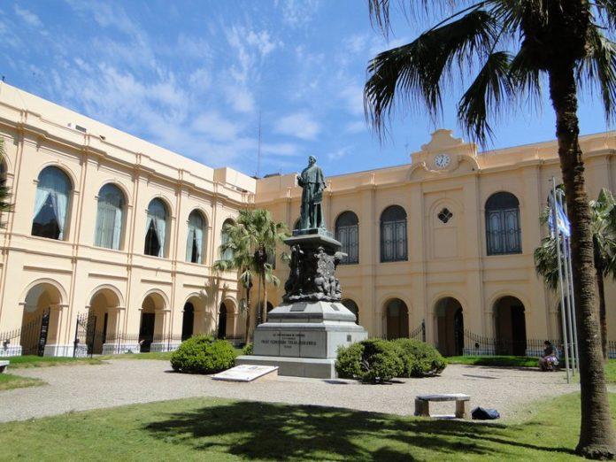 El patio del rectorado de la Universidad Nacional de Córdoba