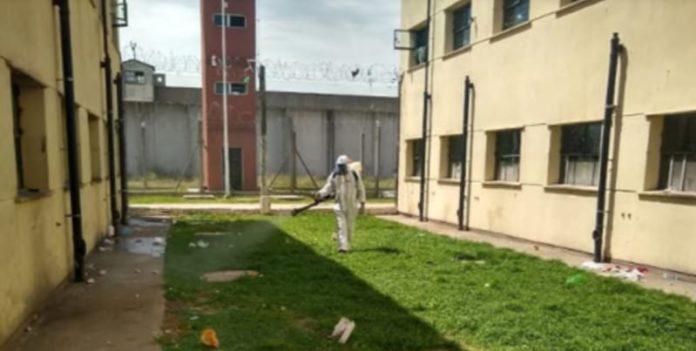 Luchan contra el dengue en las cárceles con fumigación, charlas, folletos y afiches. (Prensa SPB)