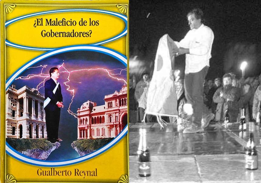 """El libro de Reynal y la """"contramaldición"""" del 24 de junio de 1999. (DIB)"""