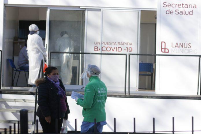 Coronavirus: reportan 4.184 casos, el número más bajo en cuatro meses