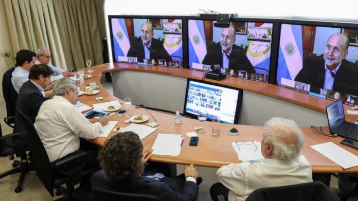 Fernández se reúne con los gobernadores para definir el inicio de la vacunación