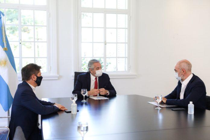 """Fernández, Kicillof y Larreta: """"preocupación"""" por la suba de casos y pedido de más cuidado"""