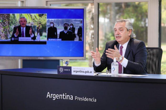 Alberto Fernández sostuvo que los argentinos