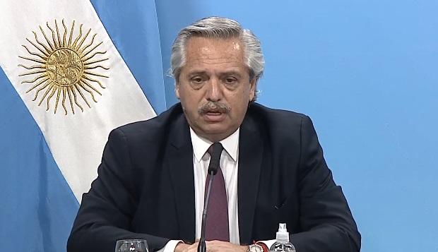 """Alberto Fernández: """"El primero que se va a dar la vacuna voy a ser yo"""""""