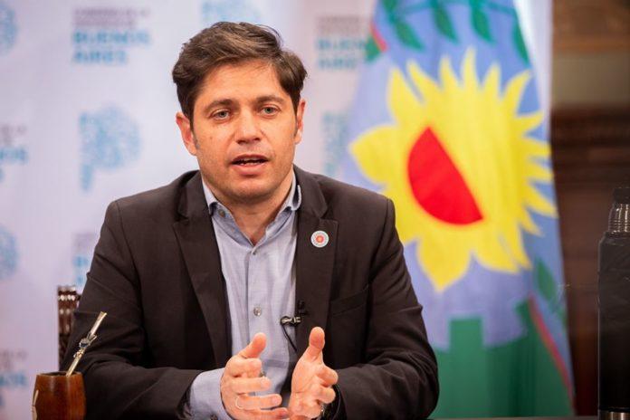 El gobernador Axel Kicillof se mostró esperanzado a horas de iniciar la vacunación contra el coronavirus