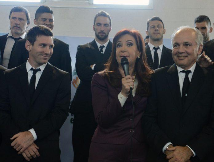 """CFK sobre Sabella: """"Lo recuerdo pidiéndome perdón por no haber podido traer la Copa del Mundo"""""""