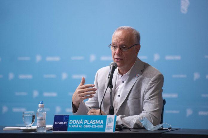El ministro de Salud de la provincia de Buenos Aires, Daniel Gollan