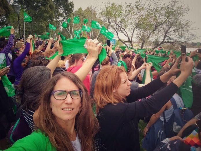"""La ministra de las Mujeres, una de las redactoras del proyecto de interrupción voluntaria del embarazo, sostuvo que se cumplió """"con una promesa de campaña"""""""