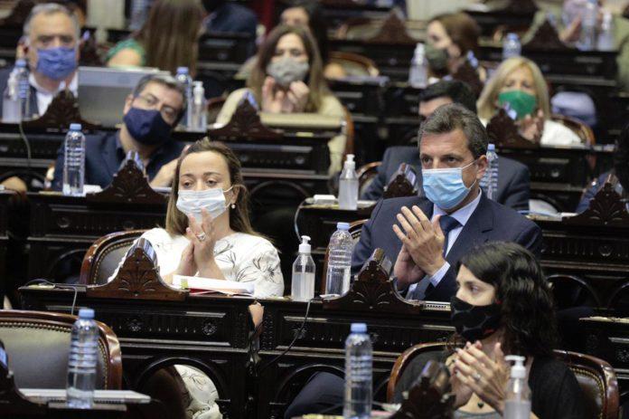 Sergio Massa fue reelecto como presidente de la Cámara de Diputados