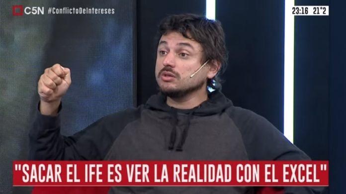 El dirigente social, Juan Grabois, volvió a mostrarse crítico del Gobierno de Alberto Fernández