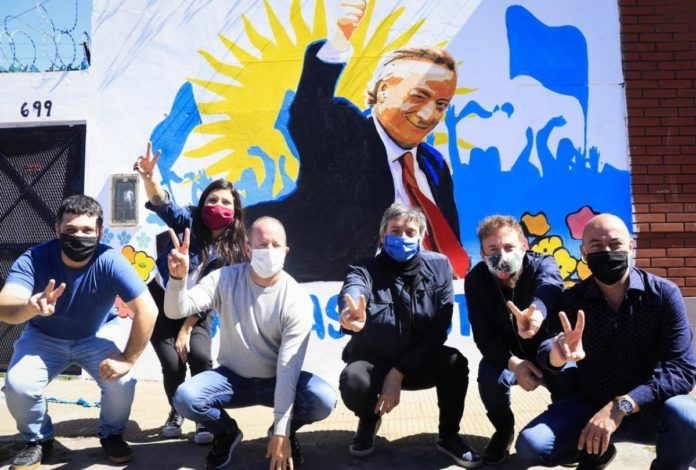 Fuerte respaldo de Insaurralde a la candidatura de Máximo Kirchner para presidir el PJ Bonaerense