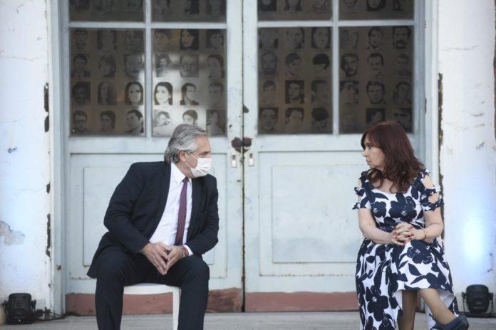 Fernández y Cristina se mostraron juntos en medio de los rumores de distanciamiento