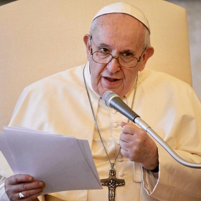 El papa Francisco pidió que las vacunas contra el coronavirus