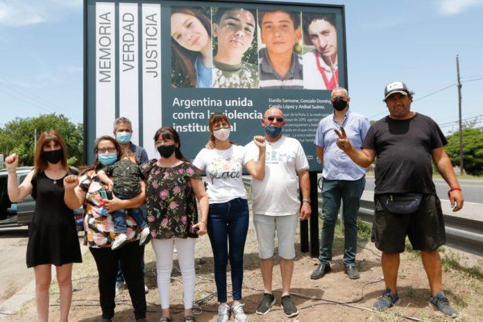 """Señalizan como """"Sitio de Memoria"""" el lugar donde ocurrió la Masacre de Monte"""
