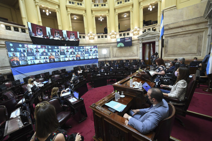 El Senado aprobó la reasignación de partidas para CABA sin apoyo opositor
