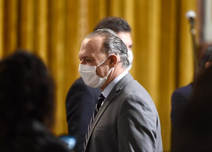 El ministro de Seguridad bonaerense, Sergio Berni
