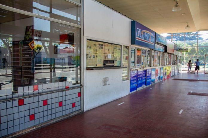 La terminal de Ómnubus de Azul