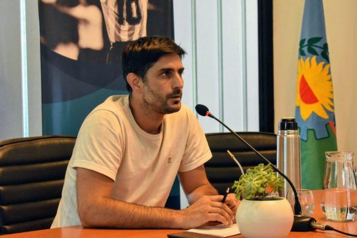 Agustín Corradini, director provincial de Torneos y Eventos Deportivos de la Subsecretaría de Deportes. (Deportes)