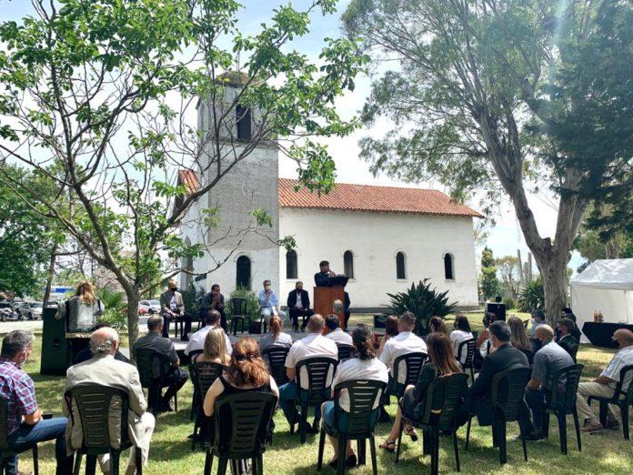El encuentro interreligioso en la Escuela de Cadetes del Servicio Penitenciario. (Prensa SPB)