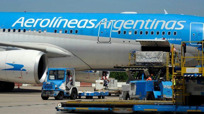Un nuevo vuelo de Aerolíneas Argentinas partirá esta noche rumbo a Moscú