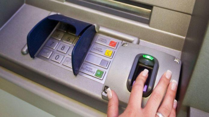 Se podrá operar en cajeros automáticos con la huella digital