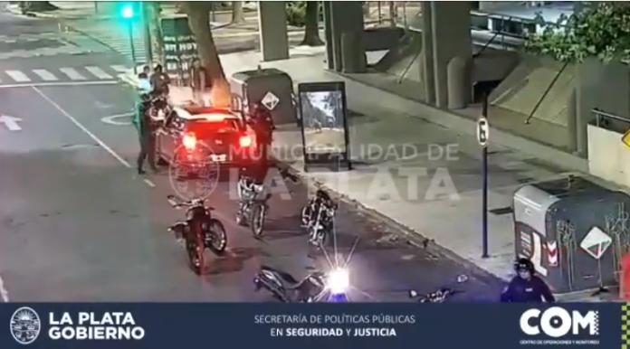 Los videos de la persecución de Piparo y su marido por las calles de La Plata