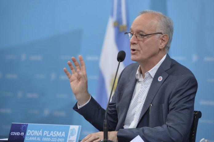 El ministro de Salud de la provincia, Daniel Gollan