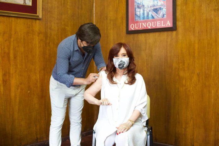 Cristina Kirchner también se aplicó la Sputnik V contra el coronavirus