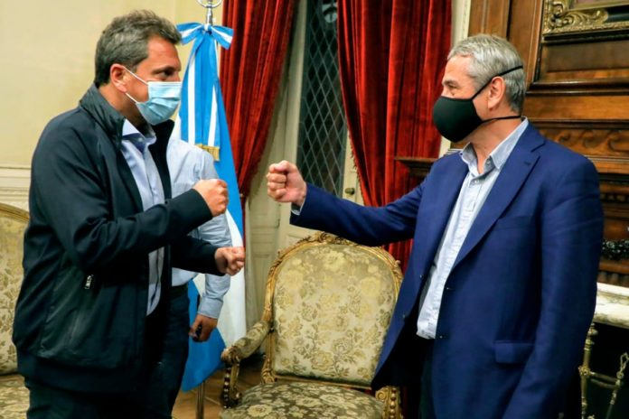 El ministro de Hábitat, Jorge Ferraresi, se reunió con Sergio Massa para analizar la iniciativa.
