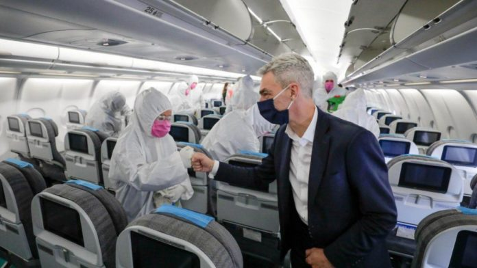 Ya rige la restricción de vuelos a EE.UU., Europa y Brasil