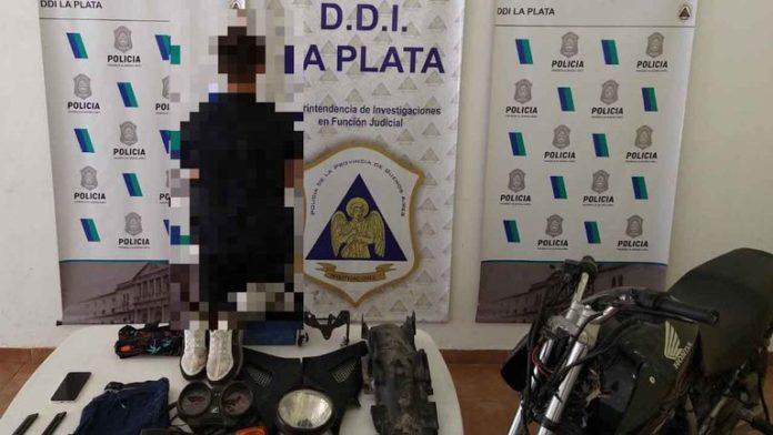 Un adolescente de 14 años fue identificado por el presunto robo a Carolina Píparo