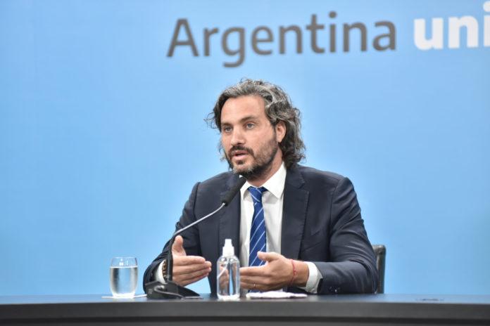 El jefe de Gabinete nacional, Santiago Cafiero