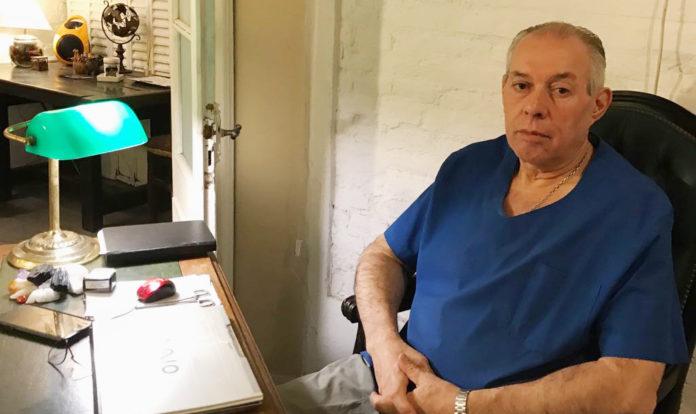 El cuestionado médico Dante Converti, en la imagen que aparece en su sitio web personal. (www.danteconverti.com)