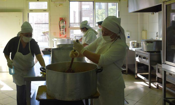 Reabren progresivamente los comedores escolares en la Provincia