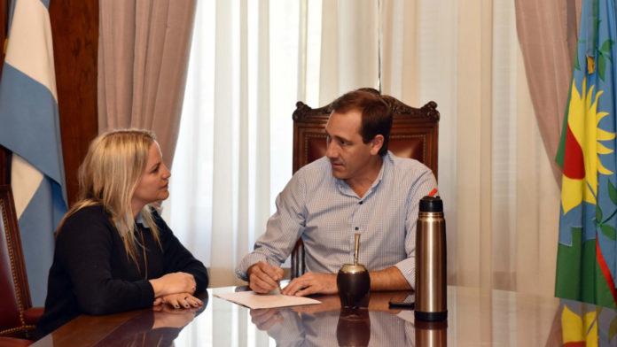 Piparo y Garro, cuando la mujer asumió como directora de Asistencia a la Víctima y Políticas de Género de la municipalidad platense.