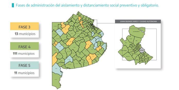 Cuatro municipios vuelven al aislamiento y otros seis a la fase 4. Todos son del interior.
