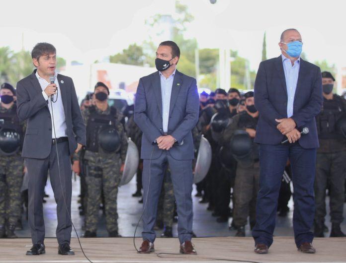 """Berni dijo que los policías que protestan buscan una """"caja millonaria"""" de sindicalización"""