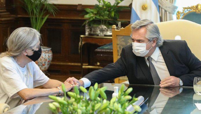 Fernández recibió a los padres de Úrsula y prometió medidas contra la violencia de género