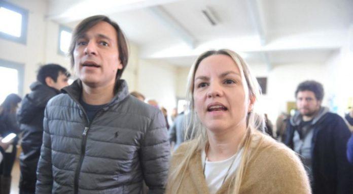 Carolina Piparo y su marido, Juan Ignacio Buzali